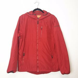 Merrell Red Guise Insulated Zip Up Jacket
